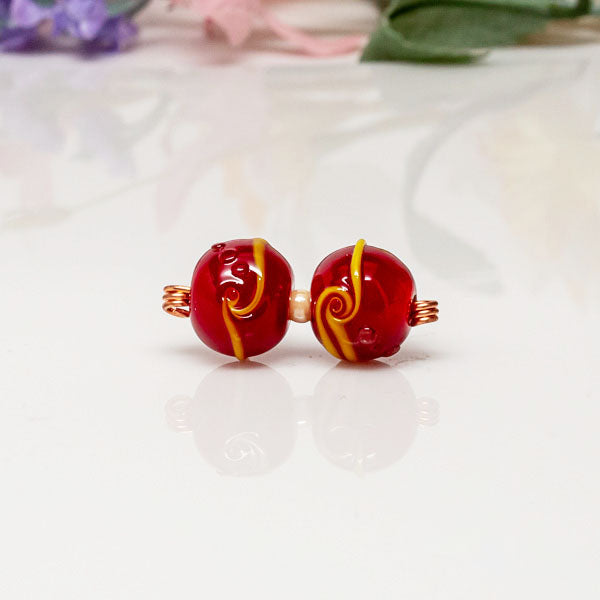 Bead Set - Red/Yellow/Twst