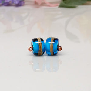 Bead Set - Lt Blue/Ivory