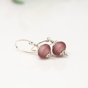 Pale Purple Earrings
