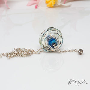 Hollow Bead Necklace