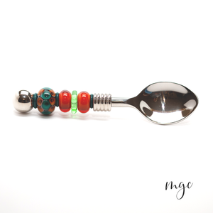 Beaded Condiment Spoons