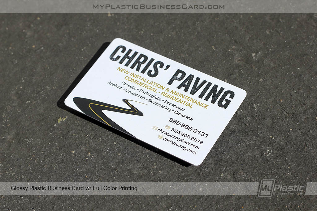 My plastic business card custom printed plastic business cards portfolio 30 reheart Images