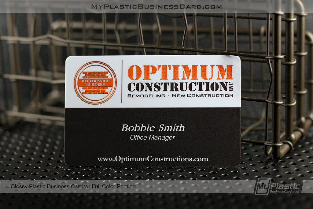 My plastic business card custom printed plastic business cards portfolio 32 reheart Gallery