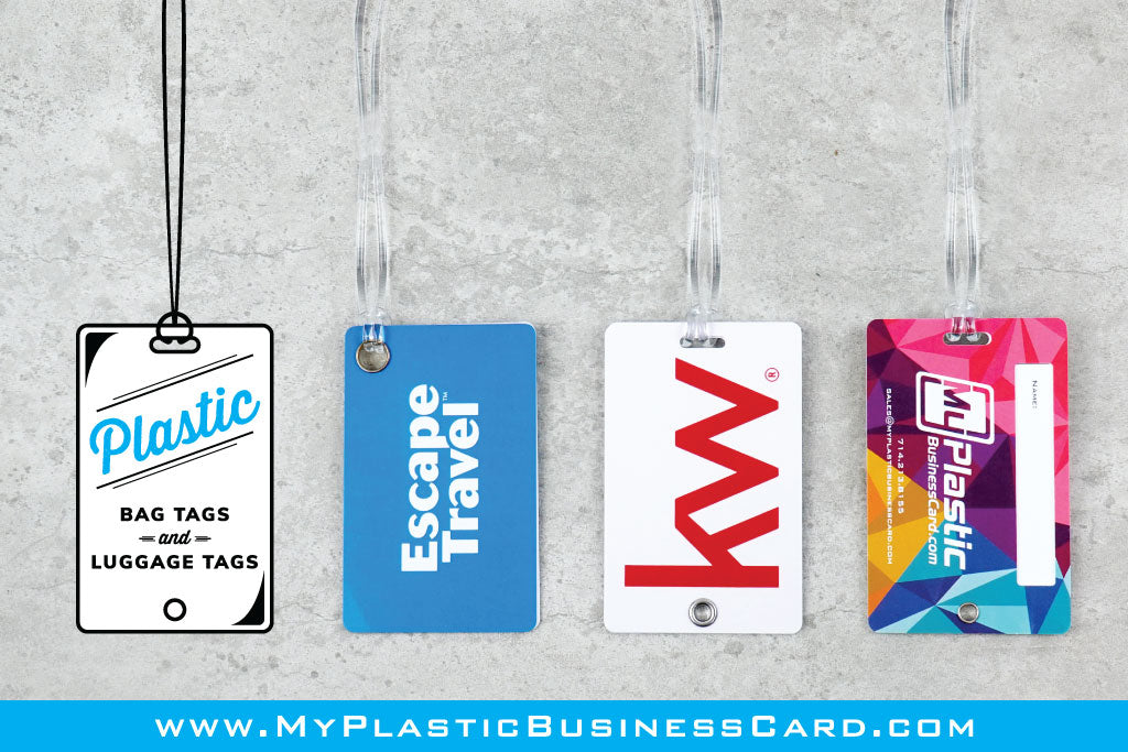 Plastic Luggage Tags and Bag Tags