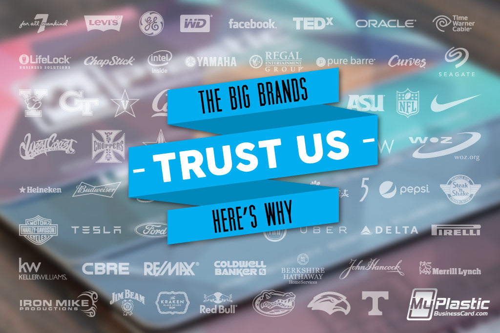 Why The Big Brands Trust Us