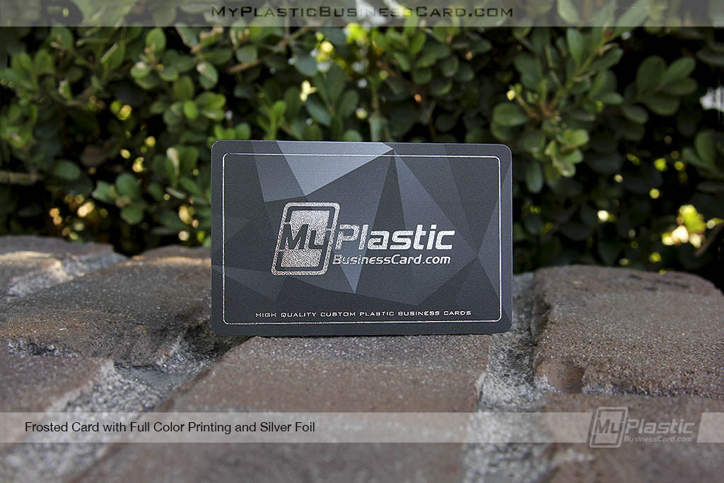 My plastic business card custom printed plastic business cards portfolio 6 reheart Image collections