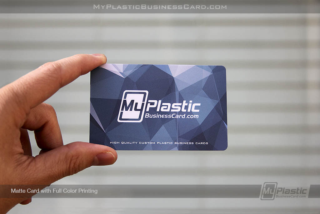 My Plastic Business Card Custom Printed Plastic Business Cards