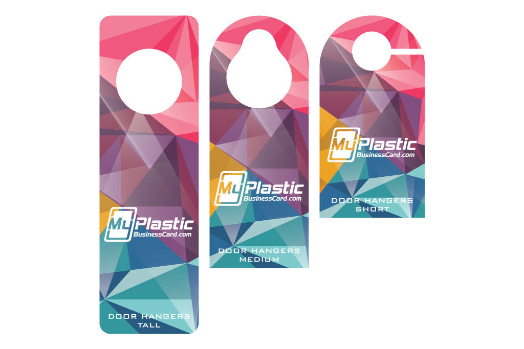 Door Hangers | My Plastic Business Card