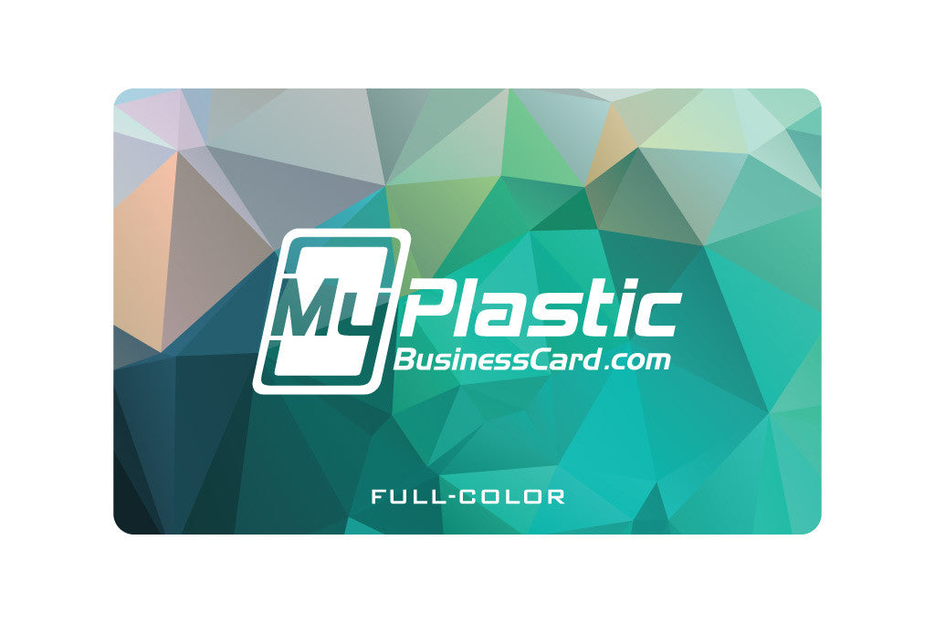 Glossy plastic business cards my plastic business card glossy plastic business cards colourmoves
