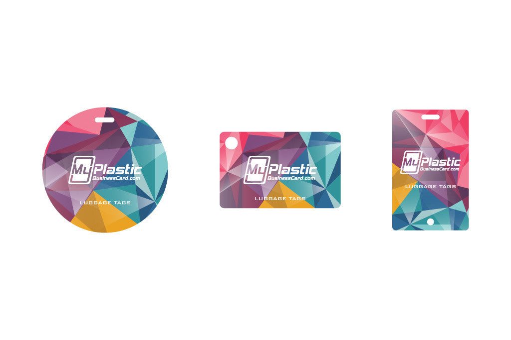 Luggage Tags | My Plastic Business Card