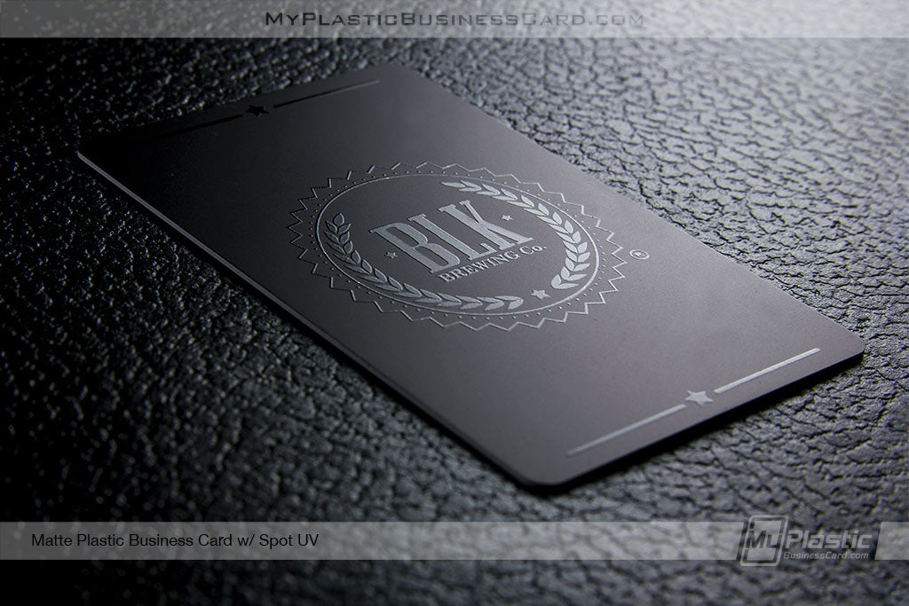 Matte Plastic Business Cards