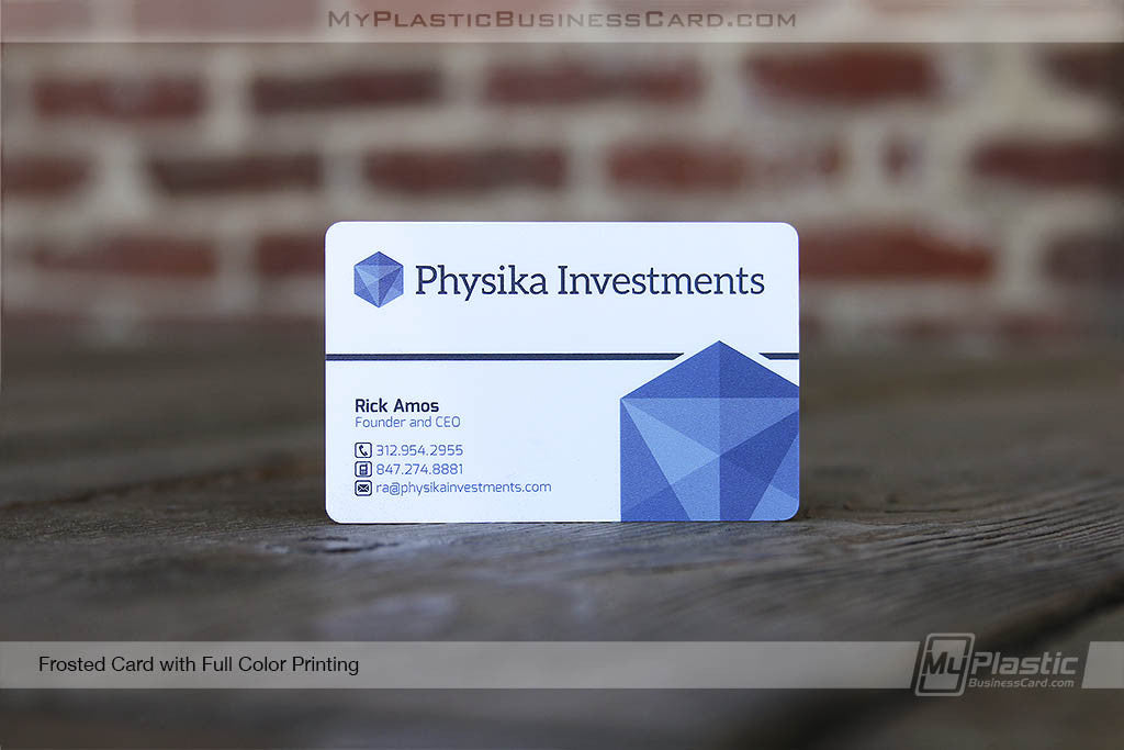 Profit Pack - 500 Plastic Business Cards | My Plastic Business Card
