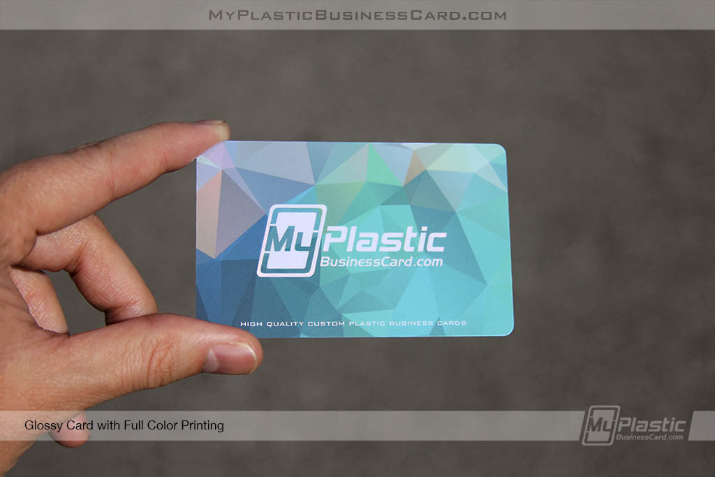 Glossy Plastic Business Cards | My Plastic Business Card
