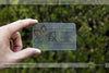 Image of Clear Plastic Business Cards