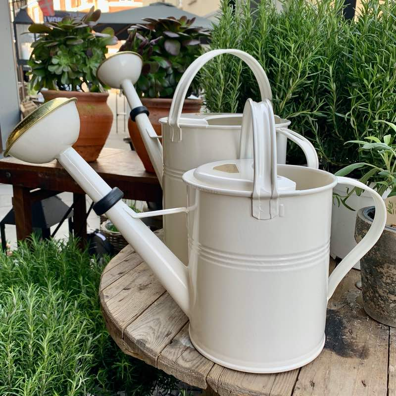 Watering can 5 liter winter white