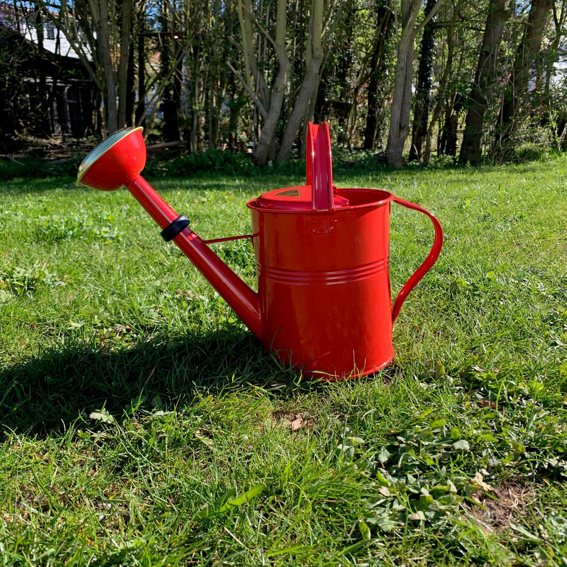 Watering can 5 liter red