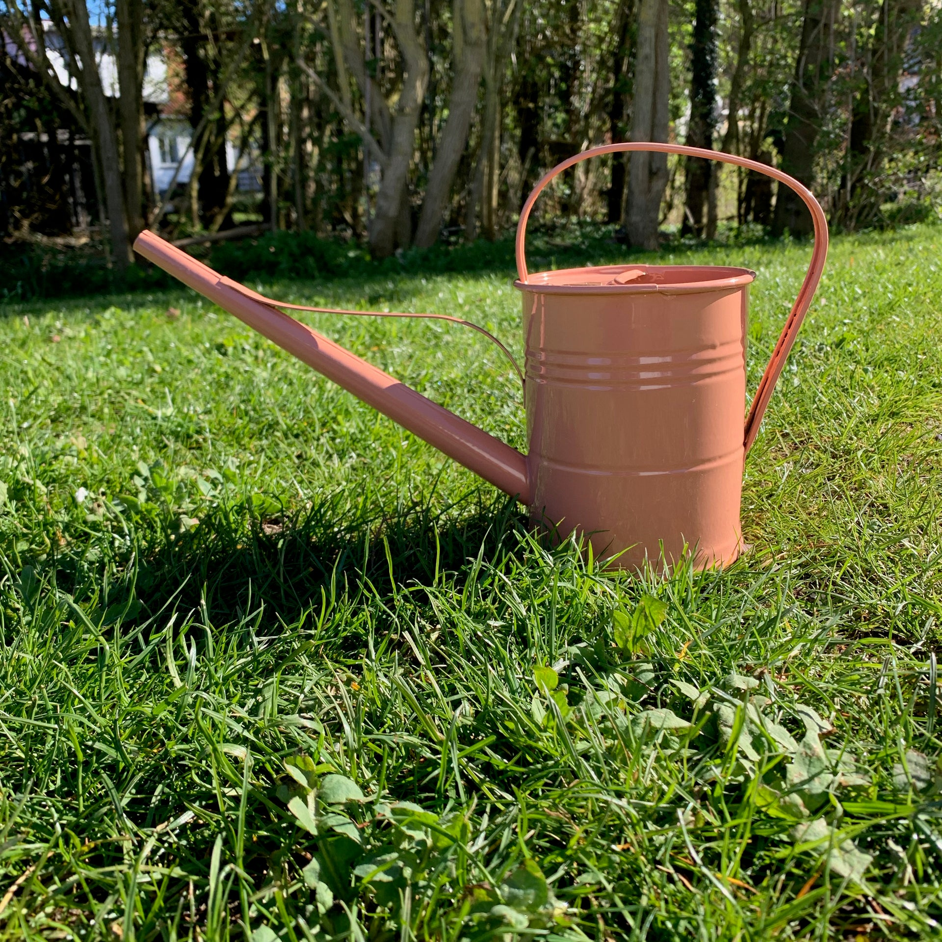 Watering can 1,5 liter terra-cotta rose