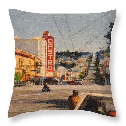 Castro - Throw Pillow
