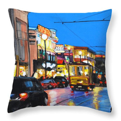 Eat At Joe's - Throw Pillow