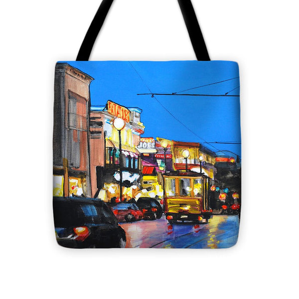 Eat At Joe's - Tote Bag