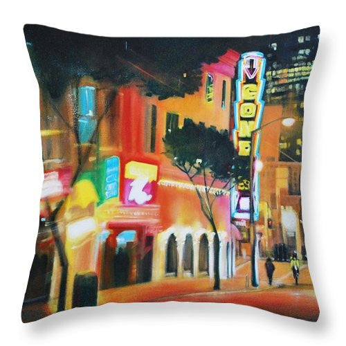 Flashy - Throw Pillow