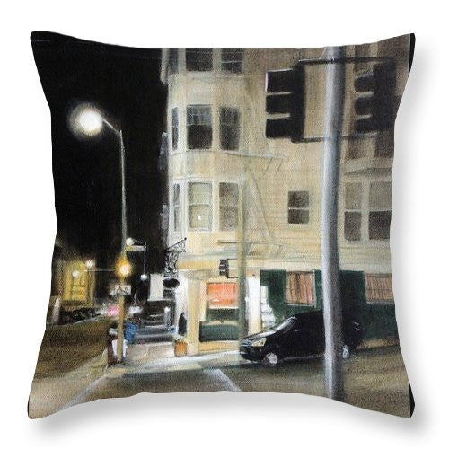 Late Night Leopold's - Throw Pillow