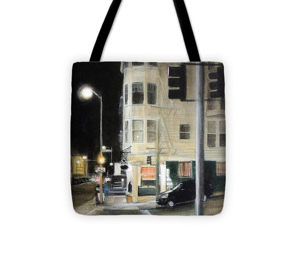 Late Night Leopold's - Tote Bag