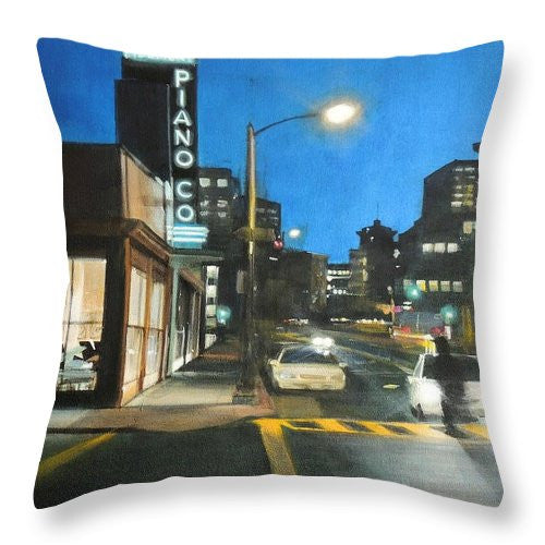 Piano Co - Throw Pillow