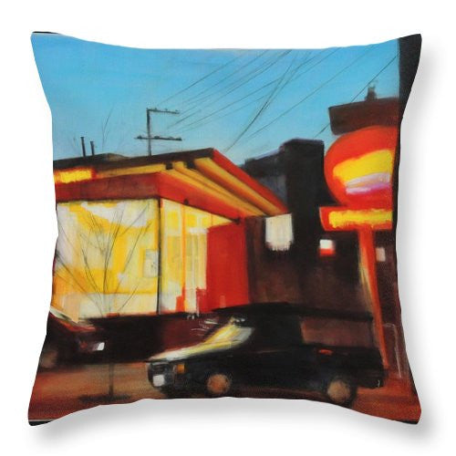 Pick Up - Throw Pillow