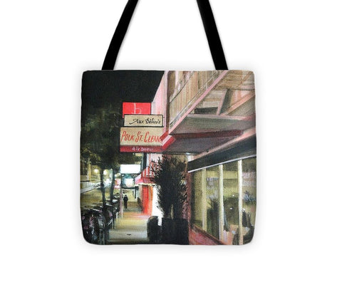 Polk St. Cleaner's - Tote Bag