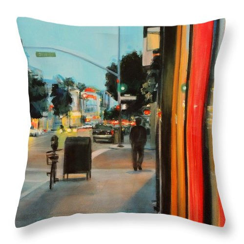 Take Out - Throw Pillow