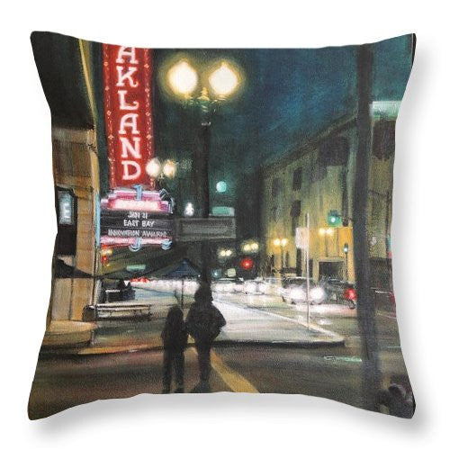 The Fox - Throw Pillow