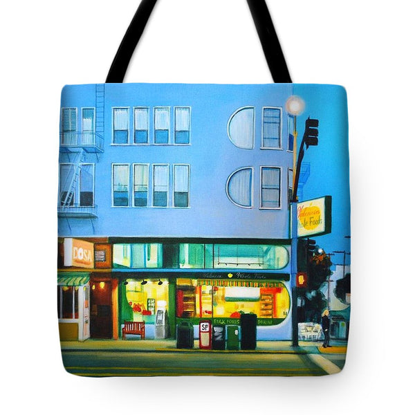 Valencia Blue - Tote Bag