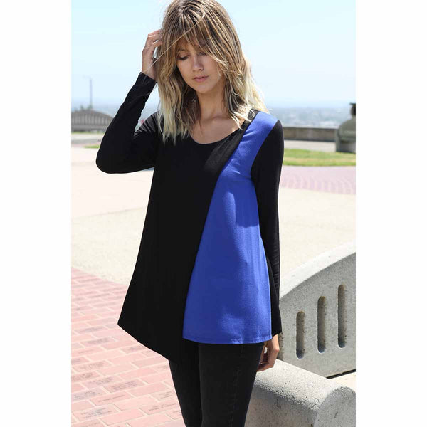 Contrast Color Overlay Top