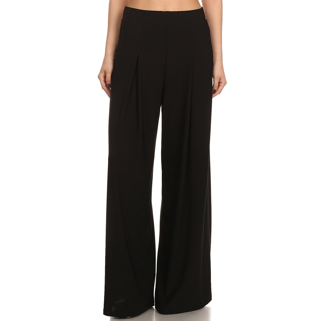 Intermingled Knit Palazzo Pants