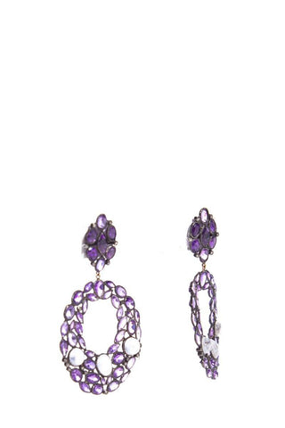 Royal Nomad Jewelry Amethyst Earrings
