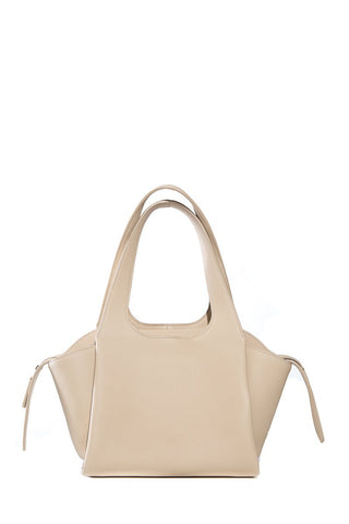 The Row Beige Two For One Leather Satchel