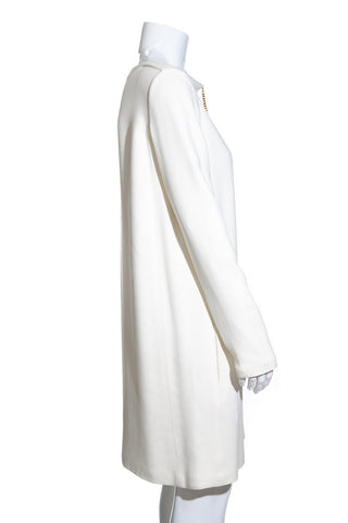 Céline White Dress SZ 42