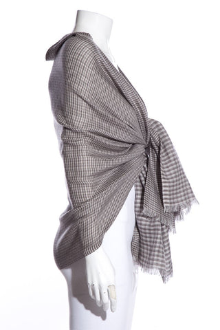 Loro Piana Grey Shawl