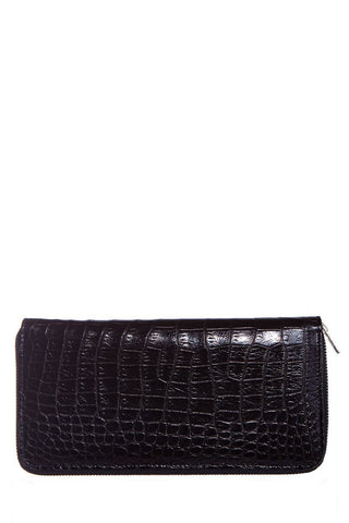 Alan Payne Black Genuine Alligator Wallet