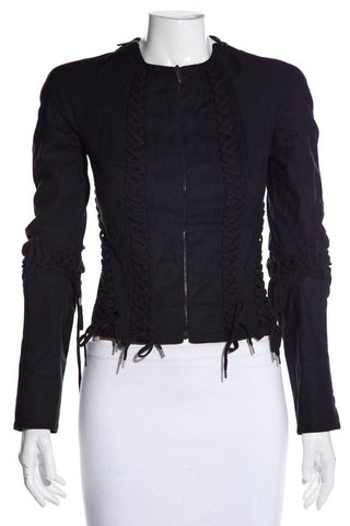 Christian Dior Black Jacket SZ 36
