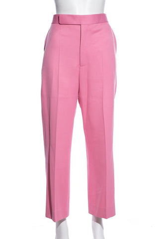 Céline Virgin Wool High-Rise Pants SZ 42 EXCLUSIVE