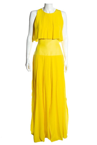 Roksanda Ilincic Yellow Dress SZ 12