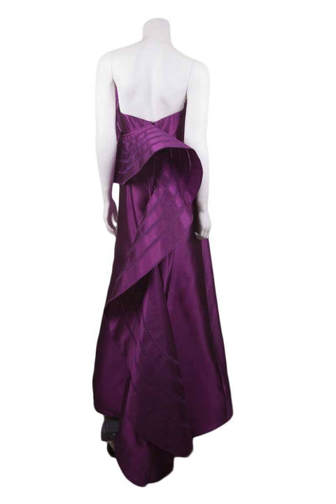 Angel Sanchez Purple Gown/Evening Wear