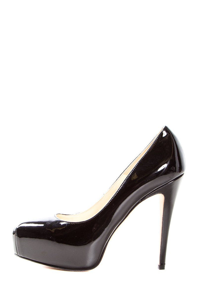 Brian Atwood Black Patent Leather