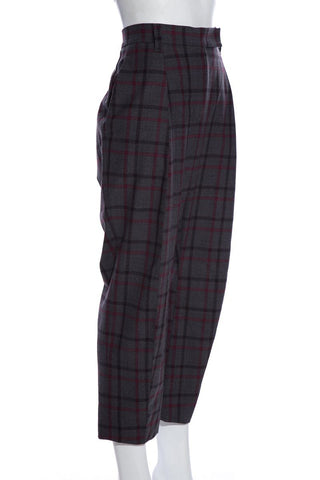 Brunello Cucinelli Plaid Pants SZ 8