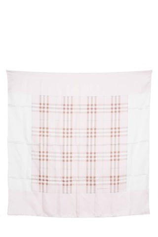 Burberry Pale Pink Nova Check Scarf