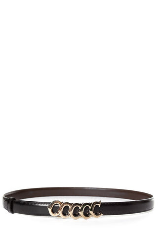 Cartier Black & Brown Leather Reversible Belt