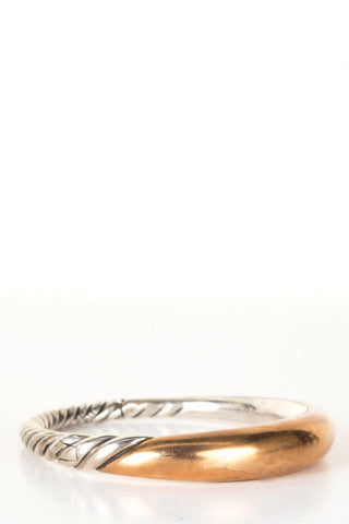 David Yurman Two-Tone Sterling Silver Bracelet