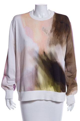 Givenchy Multi Color Long Sleeve Top SZ M